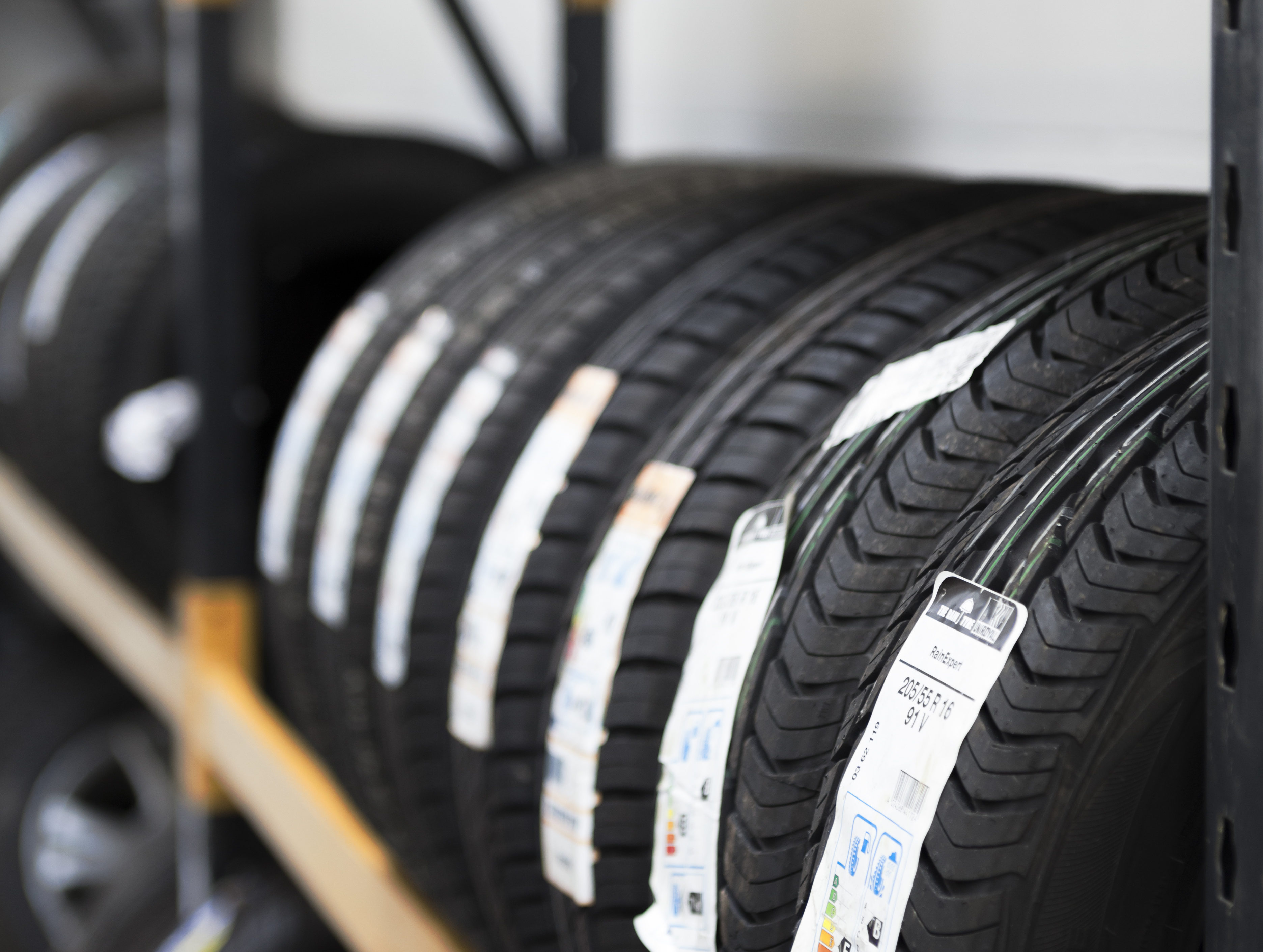 Lots of tyres in stock!